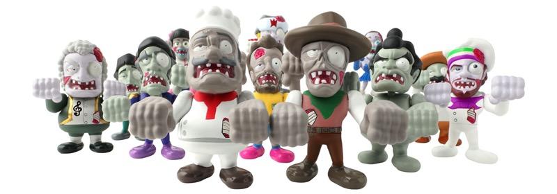 Llega a Bandai México la invasión de World of Zombies - world-of-zombies-bandai-2