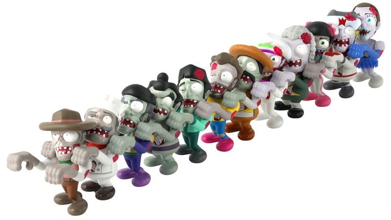 Llega a Bandai México la invasión de World of Zombies - world-of-zombies-bandai-4