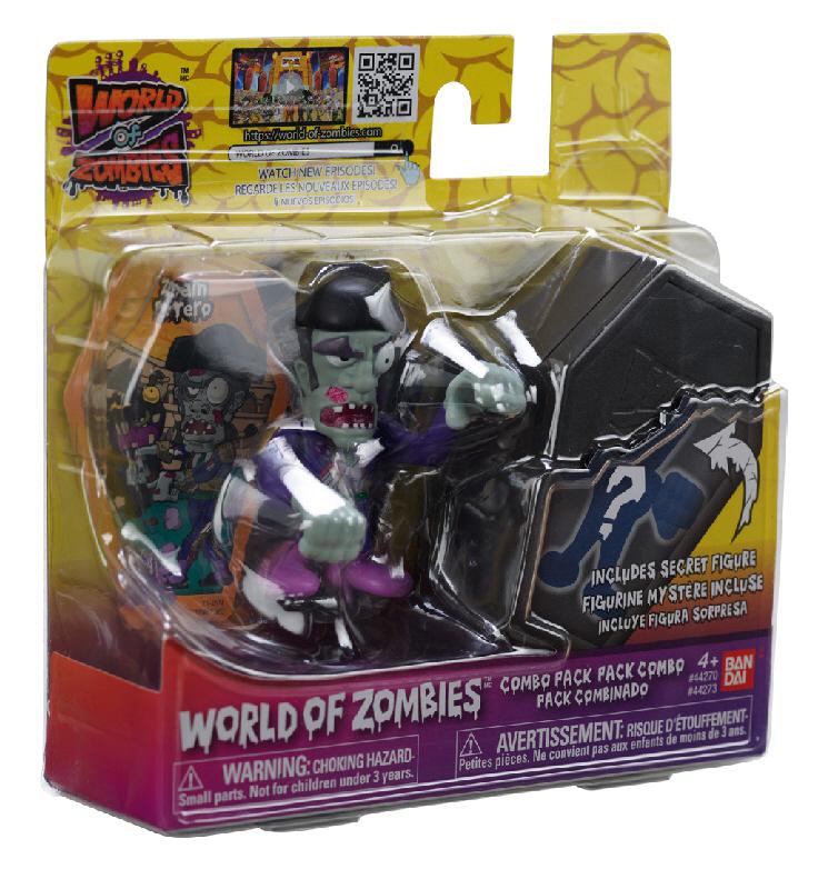 Llega a Bandai México la invasión de World of Zombies - world-of-zombies-bandai-woz-1