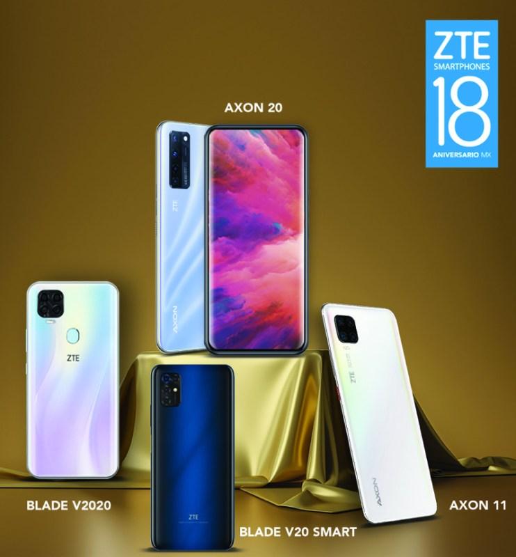 ZTE celebra 18 años de éxito en México - zte-18-aniversario-742x800