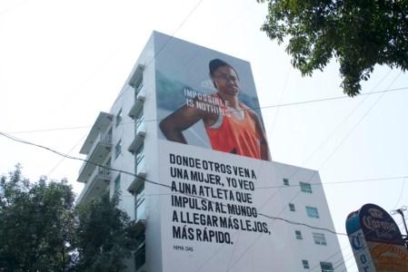 adidas presenta murales en la Ciudad de México como parte de su campaña «Impossible is Nothing»