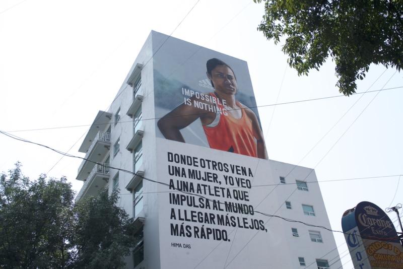 """adidas presenta murales en la Ciudad de México como parte de su campaña """"Impossible is Nothing"""" - adidas-murales-ciudad-de-mexico-1"""