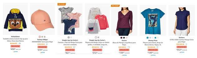 Amazon México revela las categorías más vendidas durante los primeros cuatro días del Hot Sale - amazon-moda-hombres-mujeres-bebes-descuentos-hot-sale