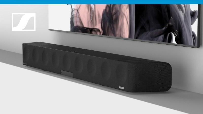 La galardonada AMBEO Soundbar de Sennheiser ahora es compatible con 360 Reality Audio de Sony - ambeo-soundbar-sennheiser-1-800x450