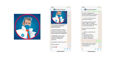 Presentan chatbot de la Secretaría de Salud que te dirá cuándo y cómo vacunarte
