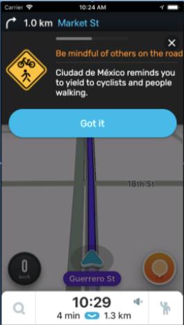 Waze lanza una nueva función para fomentar la seguridad vial - funcion-waze-fomentar-la-seguridad-vial