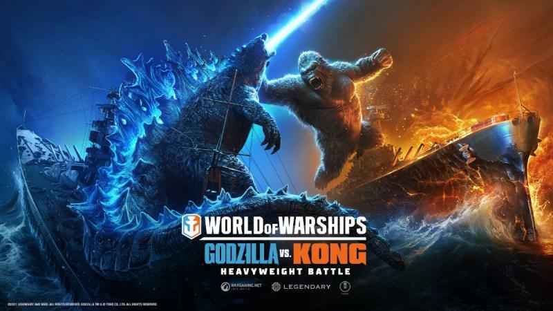 Godzilla vs. Kong: Choque de íconos en World of Warships - godzilla-vs-kong-world-of-warships-800x450