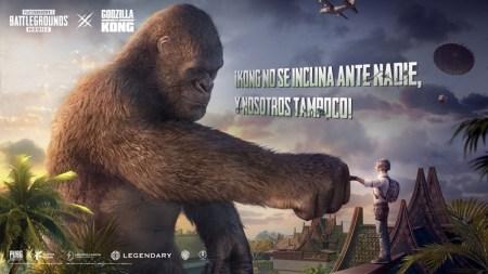 King Kong y Mechagodzilla traen una nueva dosis de acción a PUBG MOBILE