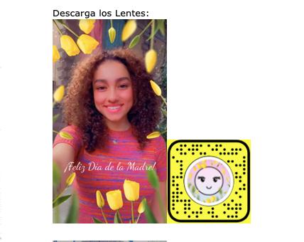 Snapchat celebra el Día de las Madres con unos lentes especiales - lentes-snapchat-dia-de-las-madres-3