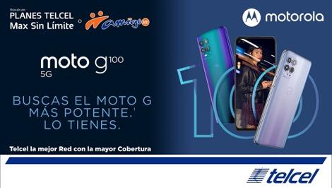 Nuevo moto g100 ¡ya disponible con Telcel! - moto-g100