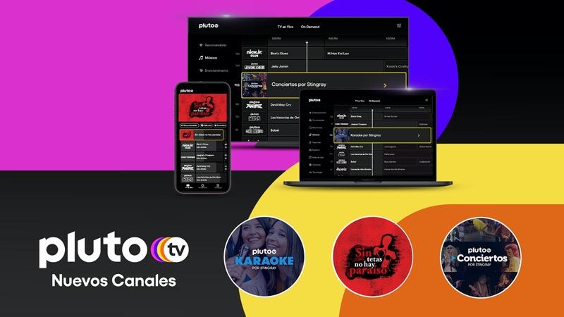 Pluto TV sigue ampliando su oferta de contenidos gratuitos en Latinoamérica - pluto-tv