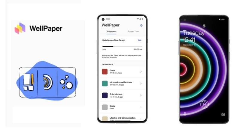 WellPaper, la app que te ayuda a medir la exposición que pasas frente a una aplicación - wellpaper-800x434