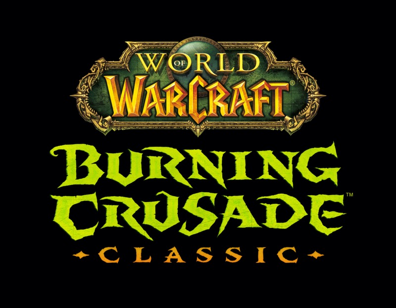 Lanzamiento de World of Warcraft: Burning Crusade Classic el 1 de junio - world-of-warcraft-burning-crusade-classic-logo
