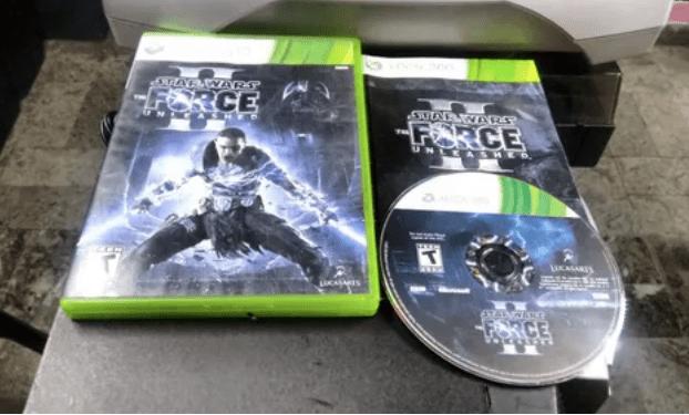 Selección de videojuegos de Star Wars y consolas clásicas disponibles en Mercado Libre - xbox-360-force-unleashed-ii-sw3