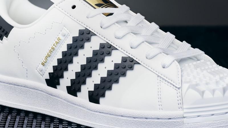 adidas Originals y LEGO lanzan silueta Superstar edificable con ladrillos de LEGO - adidas-superstar-lego-brick-shoe-6