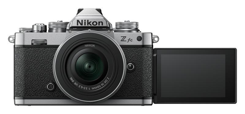 Nikon lanza la cámara sin espejo Z fc y más lentes compactos NIKKOR Z - camara-nikon-zfc-16-50dx-35-63-tilt