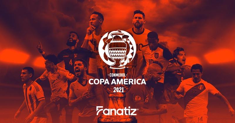 La Copa América se transmitirá en streaming: Fanatiz