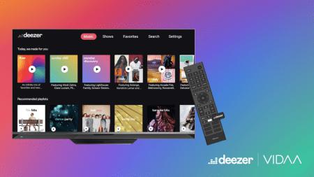 Deezer en alianza con VIDAA y Hisense para llevar música a smart TVs