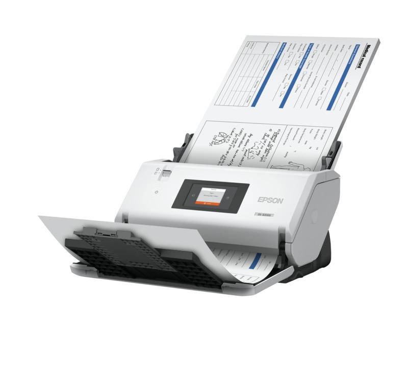 Epson presenta dos nuevos escáneres de documentos de gran formato - escaner-epson-ds-32000-product-06-left-angle
