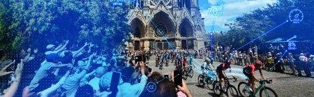 NTT creará el estadio conectado más grande del mundo, generando un «gemelo digital» de la Tour de France