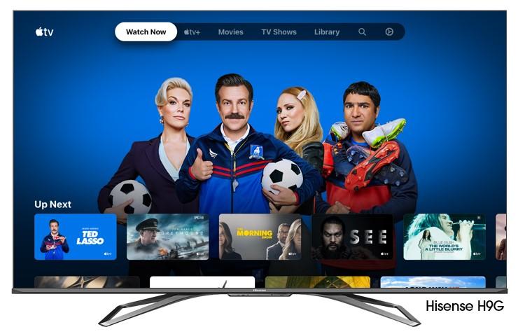 Lista de modelos de televisores Hisense donde estará disponible Apple TV - hisense-apple-tv