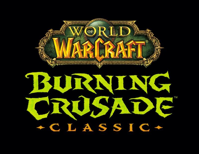 ¡World of Warcraft: Burning Crusade Classic ya está disponible! - wow-c-burningcrusade-logo-darkbg-mn01