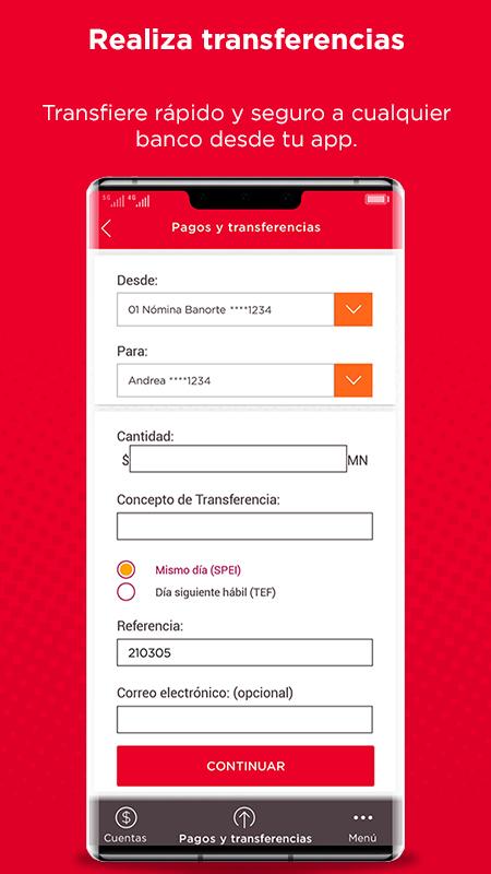Llega a la AppGallery la app de Banorte Móvil - app-banorte-movil-appgallery-transferencias
