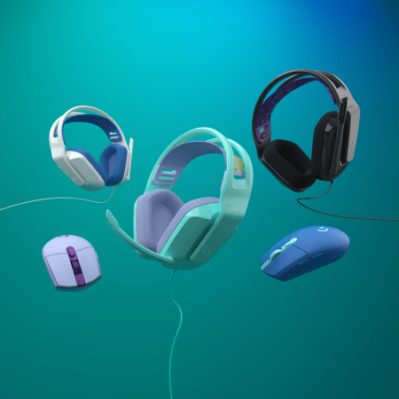 Logitech G presenta unos nuevos audífonos para su Color Collection: Logitech G335 con microfono y cable