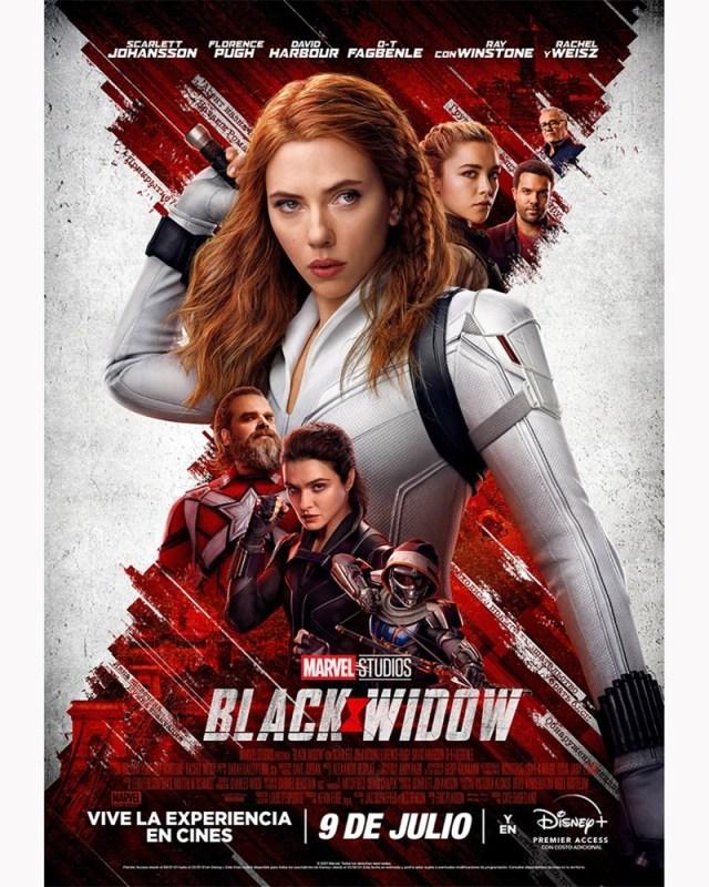 BLACK WIDOW llega el 9 de julio a salas de cine y a Disney Plus a través de premier access - black-widow-640x800