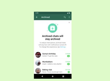 Nueva configuración para chats archivados en WhatsApp