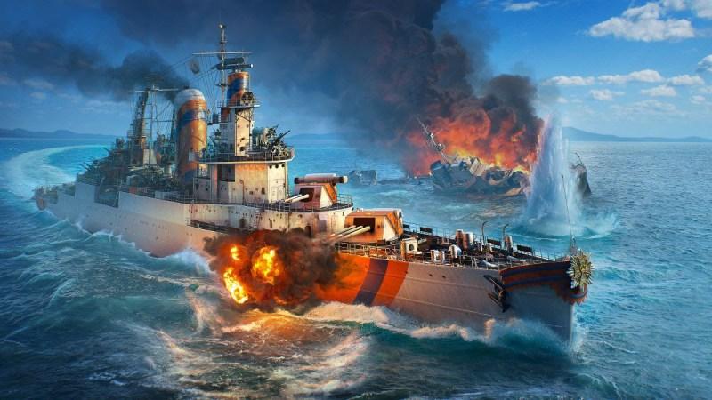 La nueva actualización de World of Warships ofrece acceso anticipado a los cruceros holandeses - cruceros-holandeses-world-of-warships-800x450