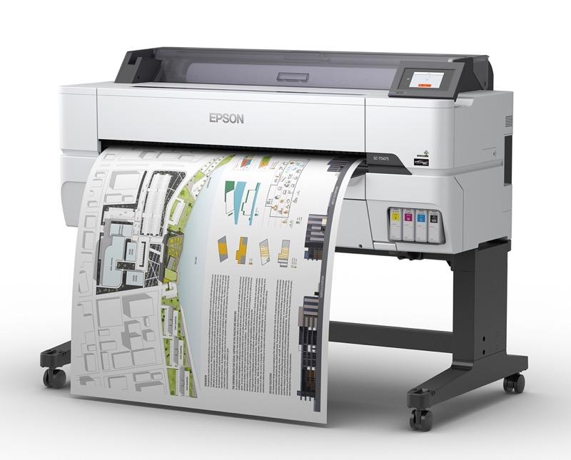Nueva impresora SureColor T5475 Epson para imprimir planos, dibujos y gráficos - epson-impresora-surecolor-t5475-product