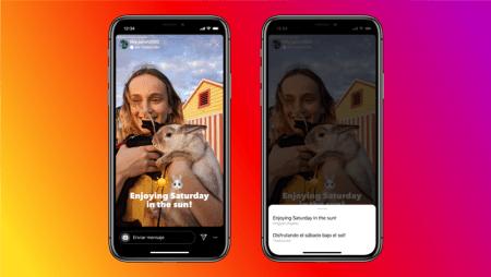 Instagram lanza función de traducción de texto en las Historias