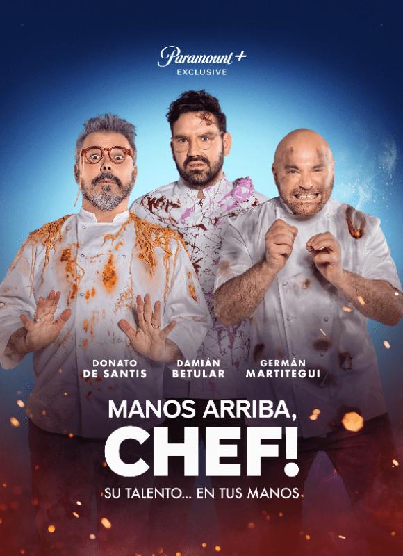 Paramount plus estrena !Manos Arriba, Chef!» el 29 de julio