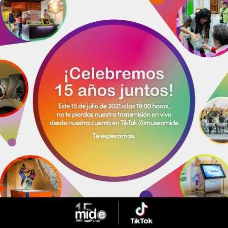 El MIDE y Franz Mayer celebran sus aniversarios en TikTok