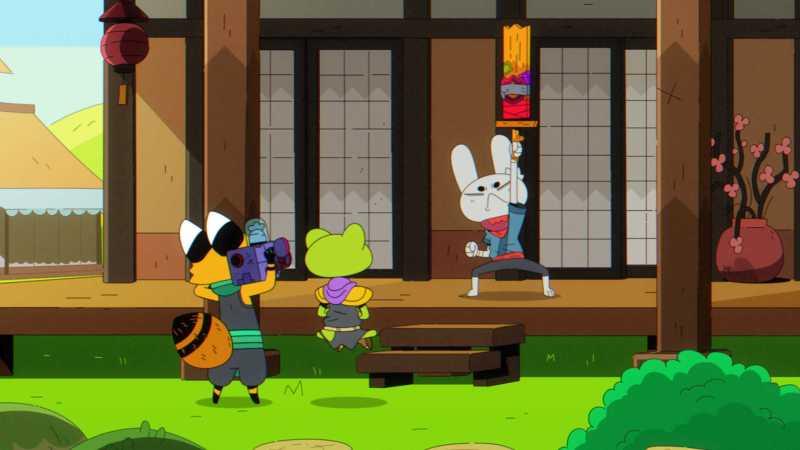 """""""Ninjin"""" estrena en HBO Max y regresa a Cartoon Network"""