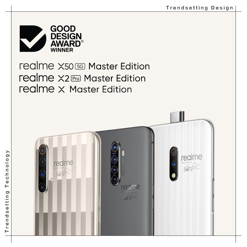 Una marca de teléfonos inteligentes que lleva el diseño a otro nivel - realme-x50-x2-x-master-edition-good-design-award-winner-800x800