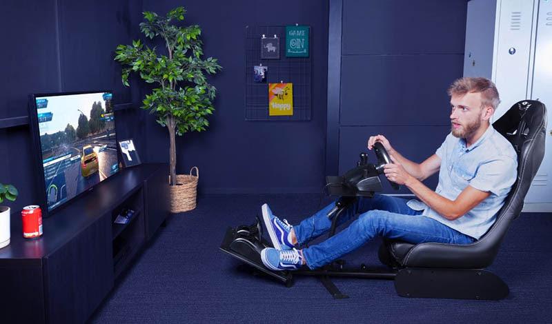 Trust lanza silla para simuladores GXT 1155 Rally y el adaptador para sillas convencionales GXT 1150 Pacer - silla-para-simuladores-de-carreras-gxt-trust-gamer