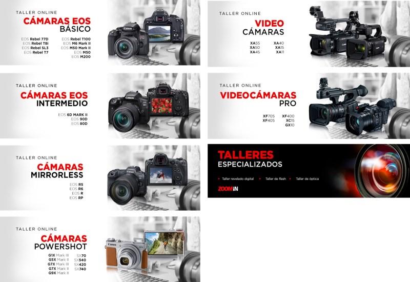 Talleres de Canon para que puedas aprovechar tu equipo al máximo de forma gratuita