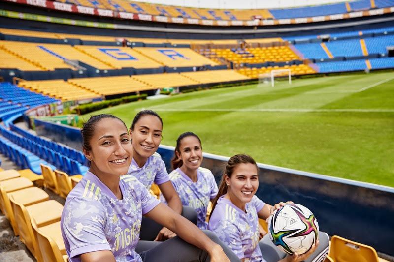 adidas y Tigres lanzan por primera vez un diseño exclusivo para su equipo femenil