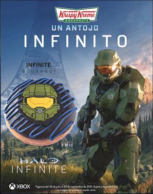 Xbox y Krispy Kreme celebran 20 años de Halo con la dona «Antojo Infinito»