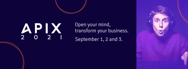 APIX, evento de APIs más grande de las Américas, se llevará a cabo el 1, 2 y 3 de septiembre de manera virtual - apix-2021