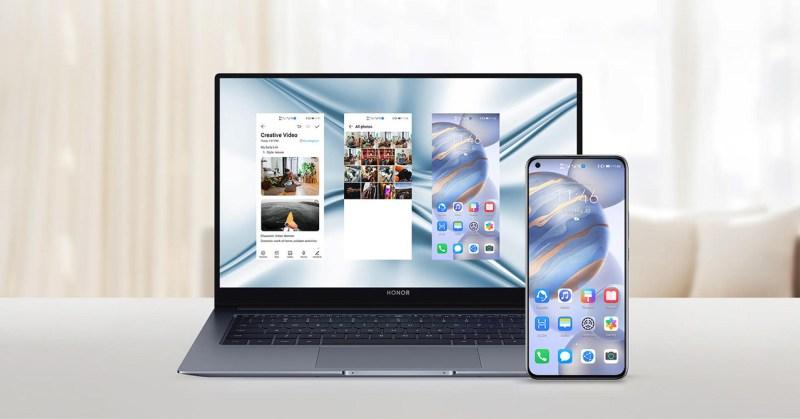 5 apps de productividad que te ayudarán en este regreso a clases en línea - colaboracion-multipantalla-honor-magicbook-x-14-honor