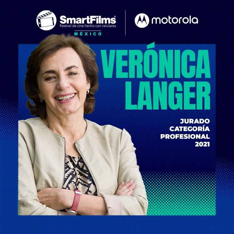 SmartFilms México y Motorola revelan a los miembros que conforman su Jurado 2021 - jurado-smartfilms-mexico-2021-veronica-langer-1280x1280