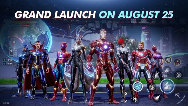 MARVEL Future Revolution se lanza hoy a nivel global para dispositivos móviles iOS y Android - marvelfuturerevolution-grandlaunchaug25-wwl