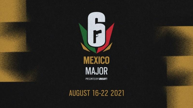 El Six Mexico Major de Tom Clancy's Rainbow Six Siege del 16 al 22 de agosto