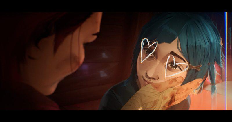Riot Games y Netflix revelan el primer tráiler de la serie animada Arcane - arcane-hearteyes-1280x675
