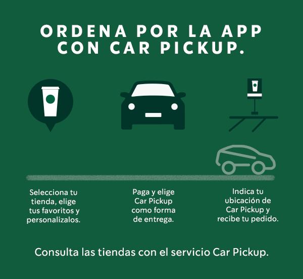 Car Pick-up : el nuevo servicio que lanza Starbucks en México