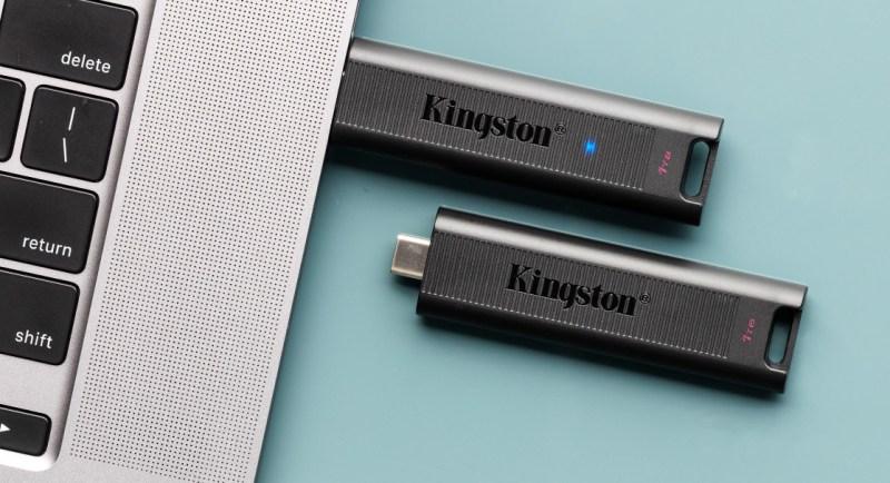 DataTraveler Max, unidad USB Tipo C de alto rendimiento de Kingston de hasta 1TB