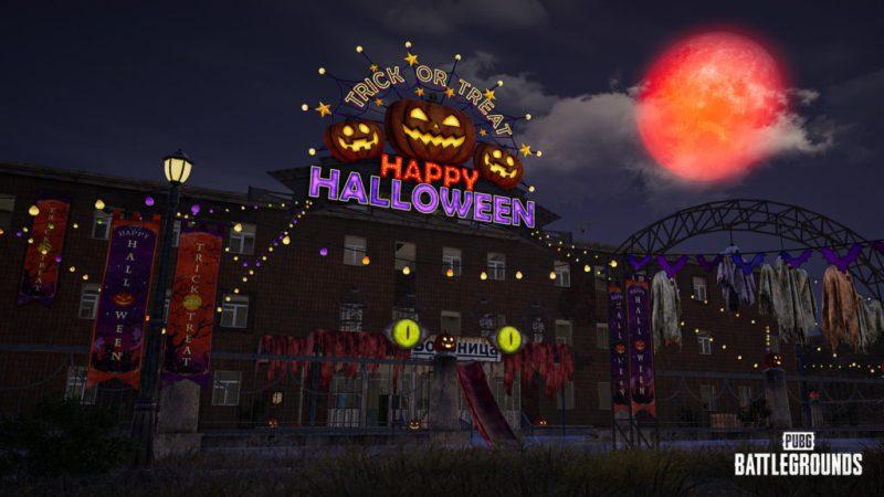 PUBG: BATTLEGROUNDS trae el Halloween al mapa Erangel con la actualización 14.1 - erangel-halloween